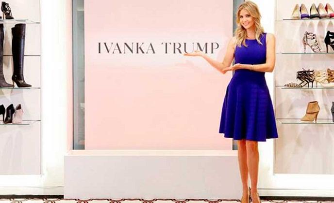 Empresas boicotean marcas de ropa de Ivanka Trump