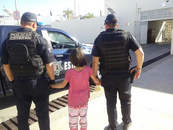 Niña de 10 años pretendía escapar de Ags. porque era maltratada por sus padres