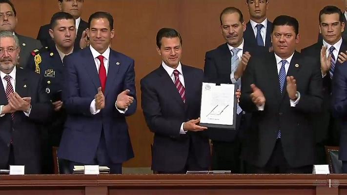 Aguascalientes se suma al llamado de unidad de Peña Nieto: MOS