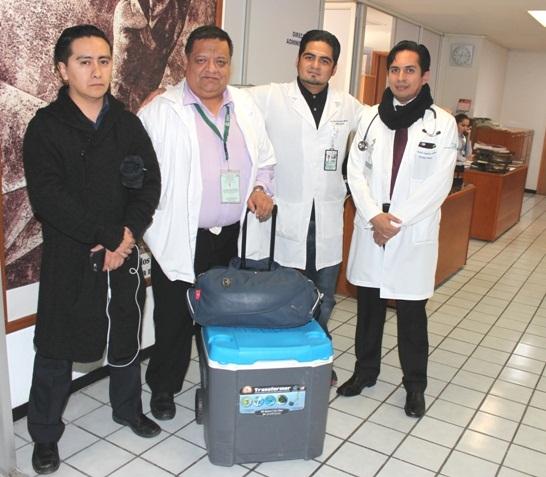 Extraen hígado a donante para dar vida a otra persona en el Hospital Hidalgo