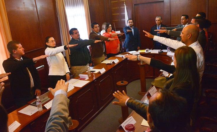 Se instalan nuevos comités en el ayuntamiento de Jesús María