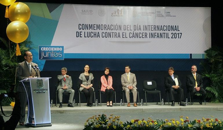 Aguascalientes, tercer lugar nacional en curación de cáncer infantil