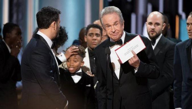 ¿Quién fue el culpable del error en la entrega de los Óscares?