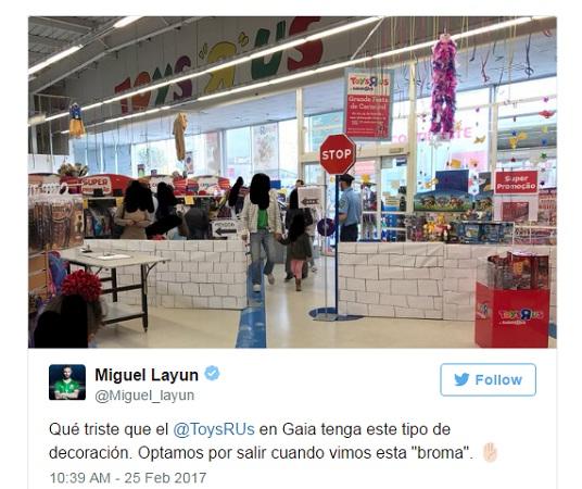 Layún sufre discriminación en juguetería de EU en Portugal