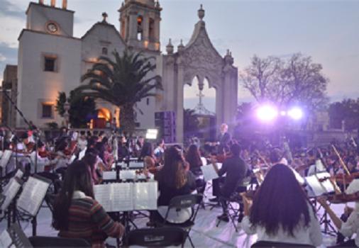 Se presentó la Orquesta Sinfónica de Jesús María en Festival del Folclore