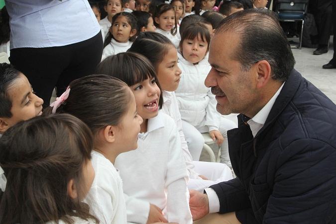 Nos enfocaremos en el bienestar de la niñez en Ags: Martín Orozco