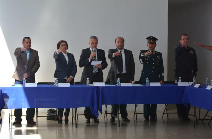 Instalan Consejo de Protección Civil en el municipio de Jesús María