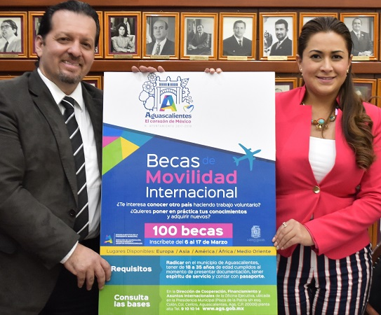 Brinda MuniAgs apoyos a jóvenes para estadías en el extranjero