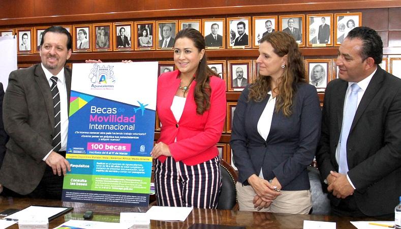 Esta semana concluye convocatoria para becas de movilidad internacional en el MuniAgs