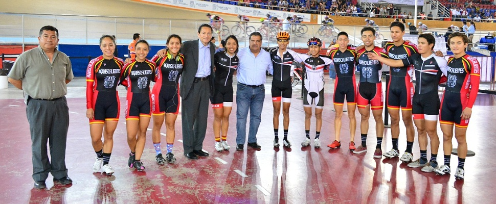 Ciclistas de Ags. obtienen buenos resultados en Copa Federación de Ciclismo de Pista