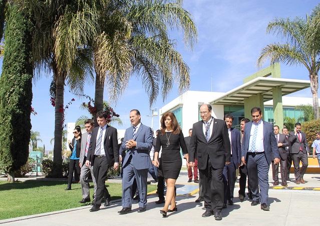 Empresa alemana expresa interés por instalarse en Aguascalientes