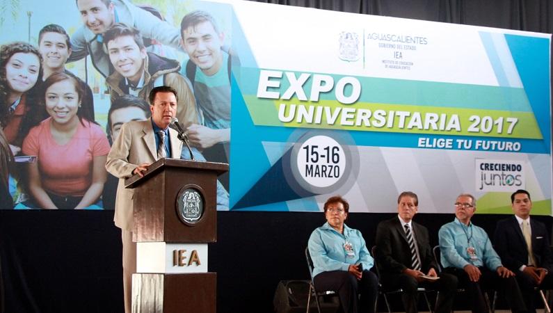 Se puso en marcha la Expo Universitaria 2017 en Aguascalientes