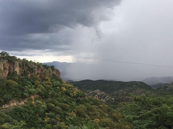 Altas probabilidades de lluvia para Aguascalientes durante el fin de semana