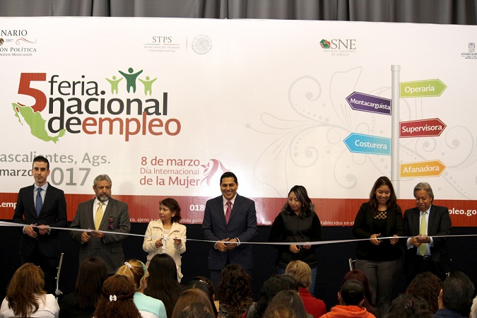 Se realizó la 1er Feria de Empleo para Mujeres en Aguascalientes