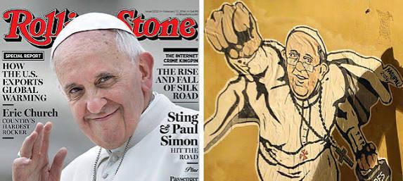 El Papa se lleva la portada de la revista Rolling Stone
