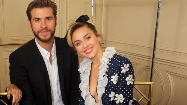 ¿Se casaron Cyrus y Hemsworth?