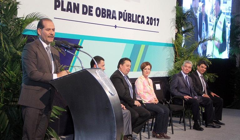 2 mil 400 mdp se invertirán en Plan de Obra Pública del Gob-Ags en 2017