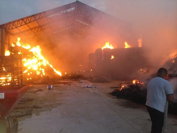 Bomberos municipales sofocan incendio en carpintería de Jesús María