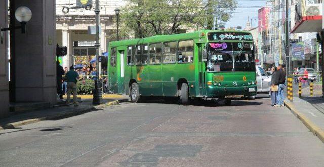 No habrá aumento de tarifas en el transporte urbano en Ags