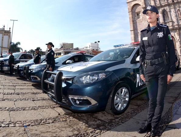 Destacada labor realizan mujeres policías de la SSPM de Ags.