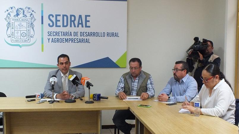 Presenta SEDRAE programa de Expos Ganadera y Agroalimentaria para la FNSM