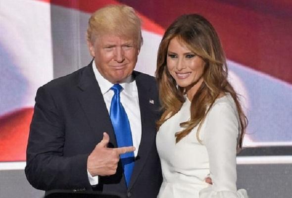 Estadounidenses quieren más a Melania Trump que a su esposo