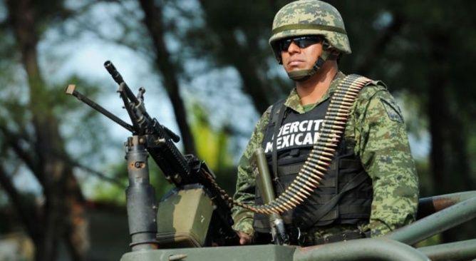 El Ejército Mexicano patrulla Jesús María