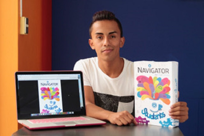 Estudiante de la UAA entre los 30 mejores en concurso de diseño en Portugal