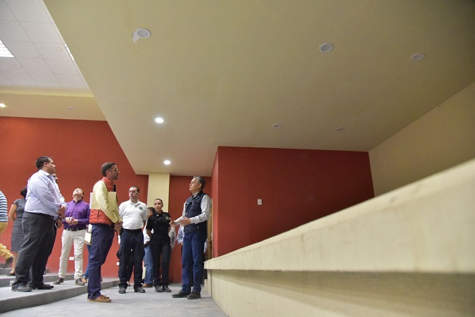 Rehabilitan comandancia de la Policía Municipal en Jesús María
