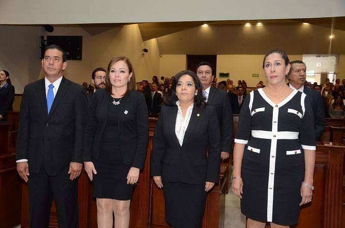 Inició oficialmente el 2° Periodo Ordinario de Sesiones del CongresoAgs