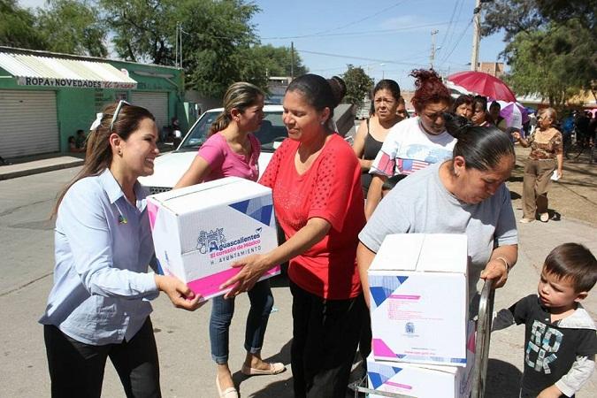 5 mil familias beneficiadas con apoyos alimentarios del MuniAgs