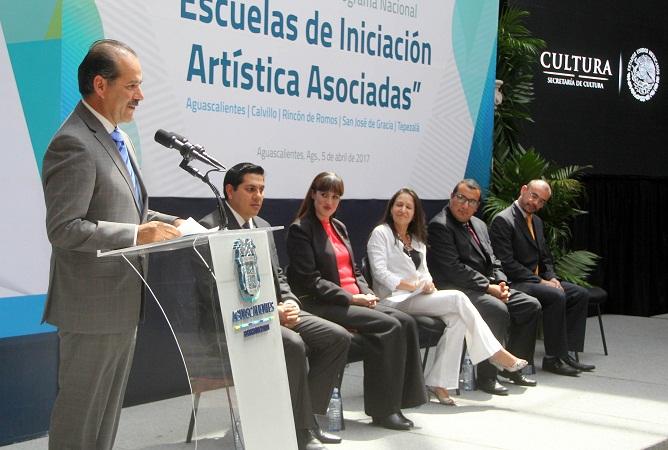 Habrá escuelas de iniciación a la Educación Artística en municipios de Ags.