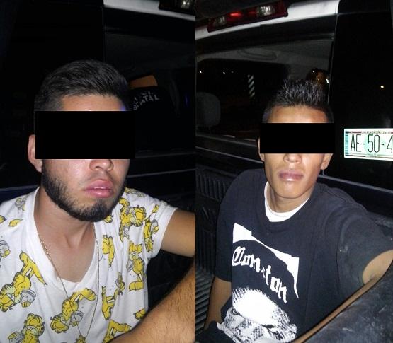 Sacan de circulación a dos narcodistribuidores en Haciendas de Aguascalientes