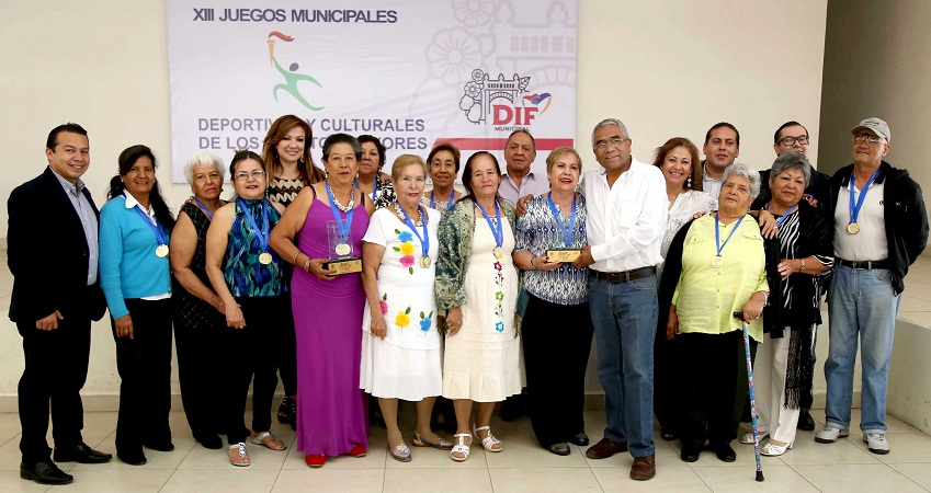 Premian a ganadores de los Juegos Municipales para Adultos Mayores en el MuniAgs