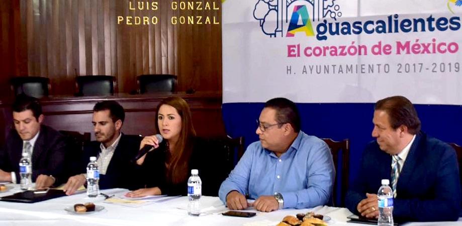 Presenta MuniAgs avances de gobierno ante el Consejo de la Ciudad