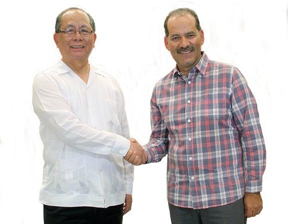 Recibió MOS a embajador de China en México