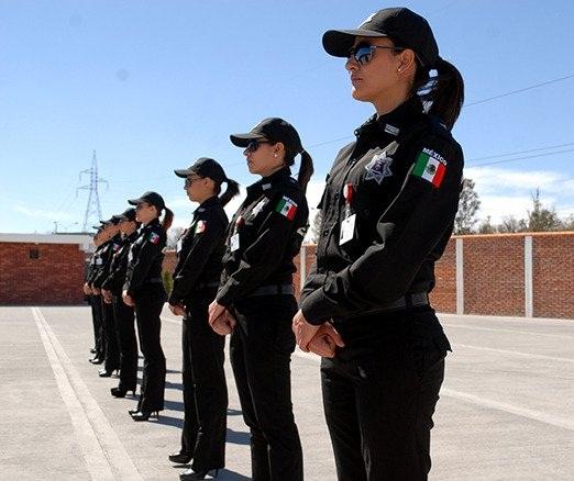 Proponen cambiar requisitos de ingreso a policías mujeres en Ags.