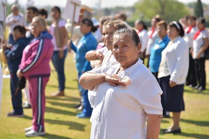 Inauguran en Jesús María las Olimpiadas Municipales Deportivas para Adultos Mayores