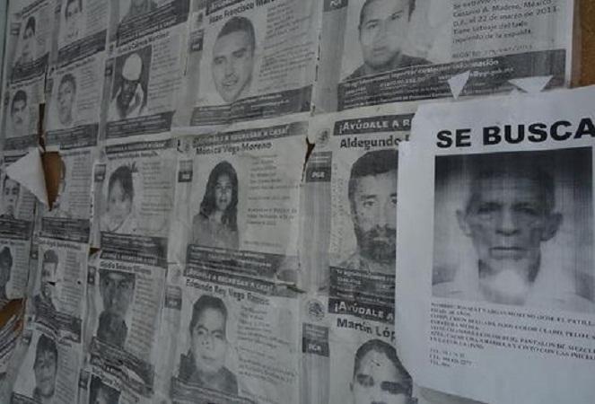 Hay 123 expedientes de personas desaparecidas en la Fiscalía General de Ags.