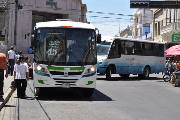 Buscarán sacar a los camiones urbanos del centro de la ciudad