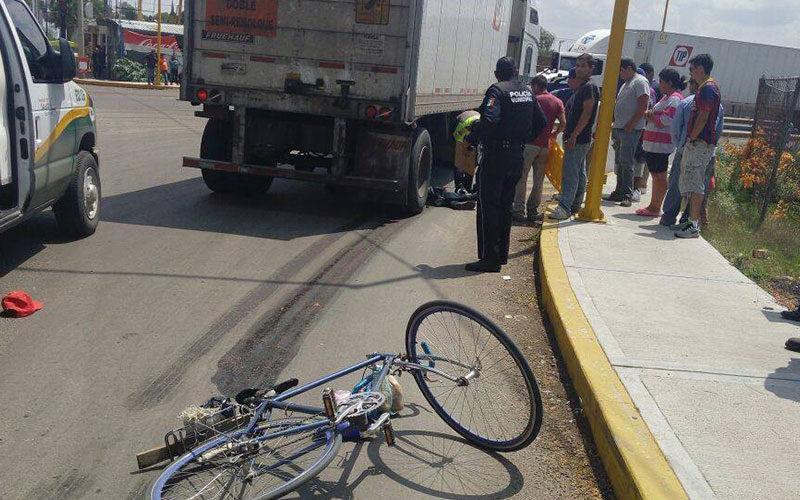15 ciclistas muertos y 160 lesionados en 2019 en Aguascalientes