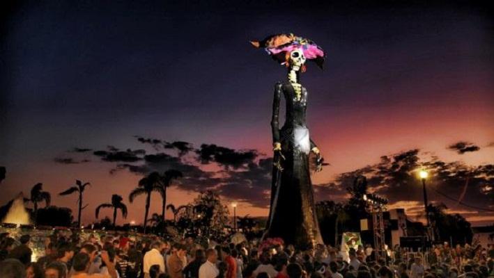 Casi medio millón de personas asistieron al pasado Festival de Calaveras