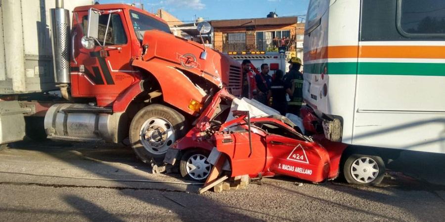 Un promedio de siete accidentes viales por día en la capital: Benavides
