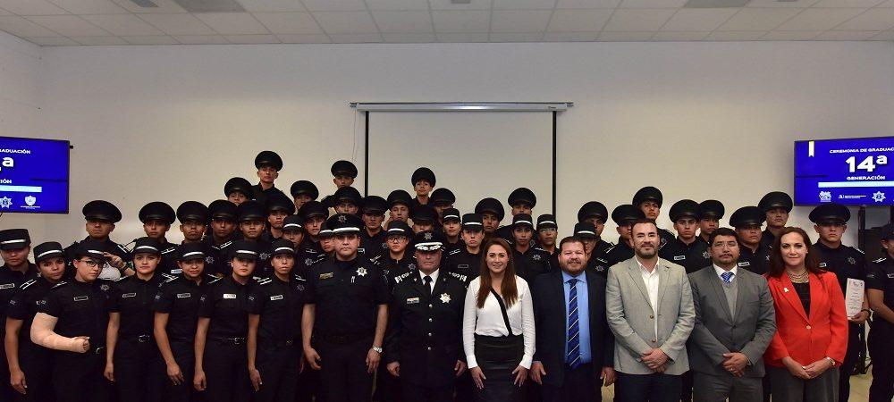 Policía Municipal de Ags. tendrá 43 nuevos cadetes