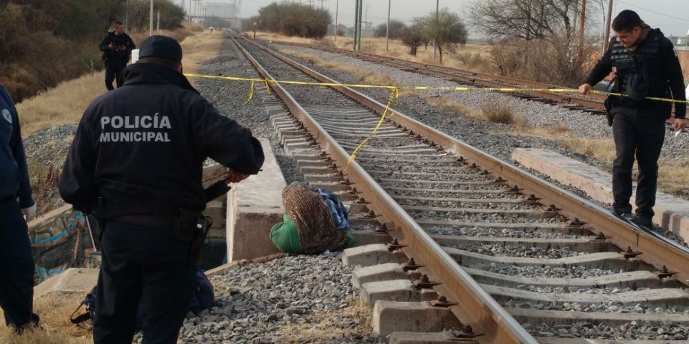 Encuentran persona sin vida cerca de las vías del tren en Aguascalientes