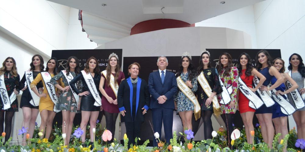 Presentan a las candidatas a reina de la Feria Nacional de San Marcos 2018