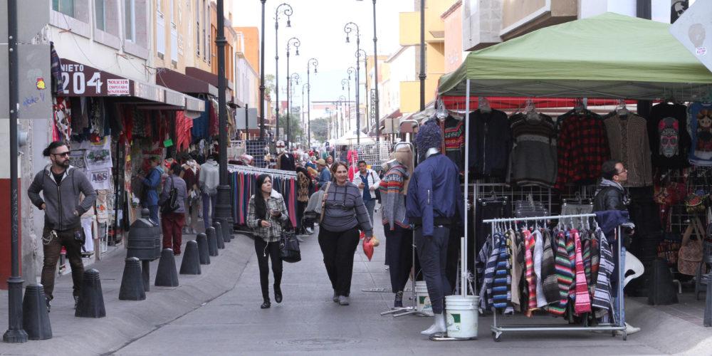 Anuncian cierres temporales en calles del centro por fiestas decembrinas