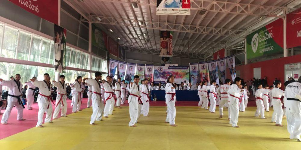 Más de 75 taekwondoines cinta negra fueron evaluados