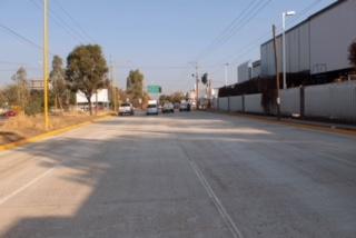 Concluyen pavimentación con concreto hidráulico en Av. Julio Díaz Torre