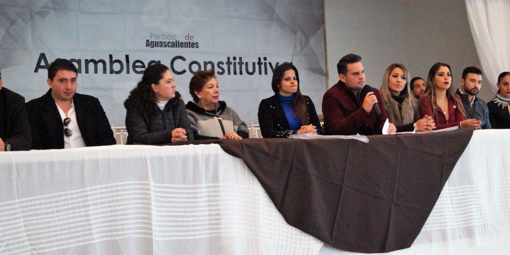 Somos Aguascalientes cumple requisitos para ser partido local
